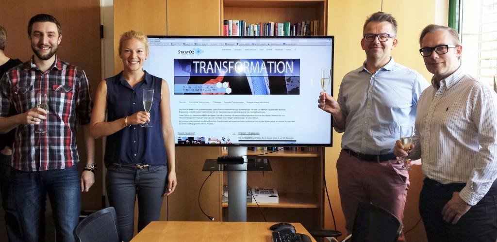 Digitale Transformation bei StratOz - David Schulz, Julia Fuhrmann, Christian Kupka - mit Achim Hepp