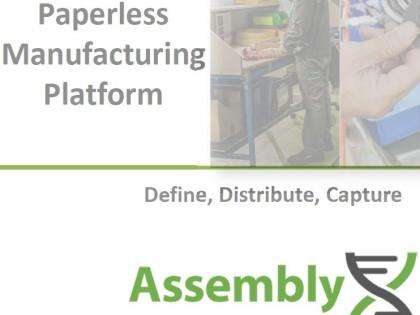 NEU: AssemblyX – Die Lösung für Industrie 4.0 in Produktion und Fertigung