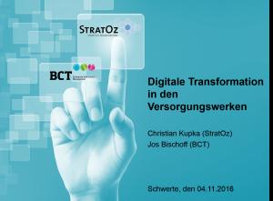 Digitale Transformation - Digitales Versorgungswerk 4.0