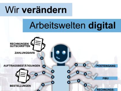 NEU: pTE 2018 – Wie Softwareroboter bei der digitalen Transformation unterstützen